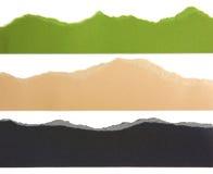 Fronteras de la tira de papel Imagen de archivo libre de regalías