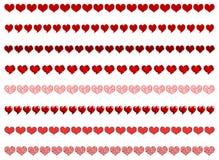 Fronteras del corazón Imagen de archivo