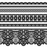 Fronteras del cordón en blanco ilustración del vector