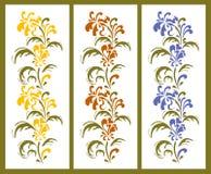 Fronteras florales Imagenes de archivo