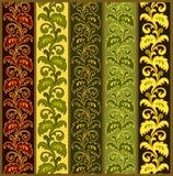 Fronteras florales Imagen de archivo libre de regalías
