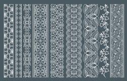 Fronteras inconsútiles verticales del cordón Fotografía de archivo libre de regalías