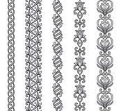 Fronteras ornamentales Imagen de archivo libre de regalías