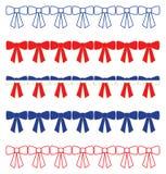 Fronteras patrióticas del arco Imagen de archivo libre de regalías