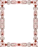 Fronteras y marcos decorativos stock de ilustración