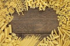 Frontière abstraite de pâtes Image libre de droits