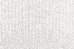 Frontière argentée de scintillement avec les lumières de cascade photos libres de droits