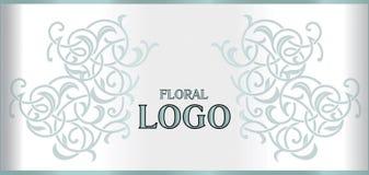 Frontière décorative fleurie florale élégante de cadre d'élément décorative Image libre de droits