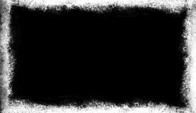 Frontière d'écran de recouvrements Le vieux cadre grunge de cru recouvre la texture illustration libre de droits