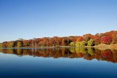 Frontière d'automne Images stock