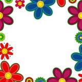 Frontière d'ornement floral Photo stock
