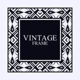 Frontière de cadre d'Art Deco Photo stock