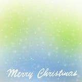 Frontière de carte de voeux de Joyeux Noël photos libres de droits