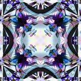 Frontière de fée de kaléidoscope de batik Photos libres de droits