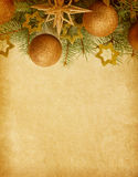 Frontière de Noël. Image libre de droits