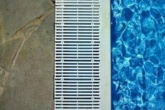 Frontière de piscine Photographie stock libre de droits