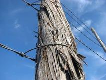 Frontière de sécurité électrique Images libres de droits