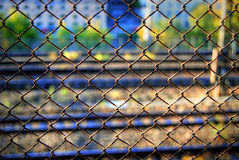 Frontière de sécurité Photo libre de droits
