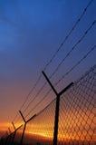 Frontière de sécurité Image libre de droits