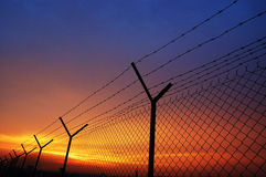 Frontière de sécurité Images libres de droits