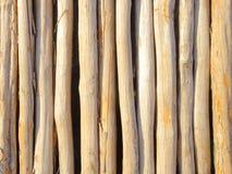 Frontière de sécurité de bâton Photographie stock libre de droits