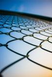 Frontière de sécurité de câble images libres de droits