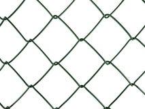 frontière de sécurité de compensation de fil d'aka de Réseau-tige, d'isolement Photographie stock libre de droits