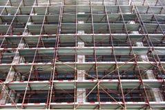 Frontière de sécurité de construction Photographie stock libre de droits