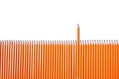Frontière de sécurité de crayon photographie stock libre de droits