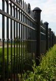 Frontière de sécurité de fer de forge Photos libres de droits