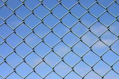 Frontière de sécurité de fil Images stock