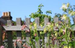 Frontière de sécurité de jardin Photo libre de droits