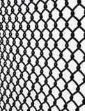 Frontière de sécurité de maillon de chaîne Photos stock