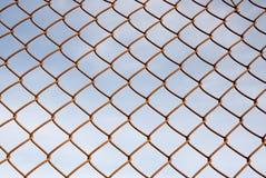 Frontière de sécurité de maillon de chaîne Photo stock