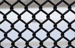 Frontière de sécurité de maillon de chaîne Photos libres de droits