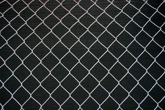 Frontière de sécurité de maillon de chaîne photographie stock