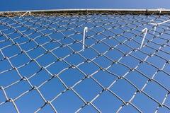 Frontière de sécurité de maillon de chaîne (séries) Photos stock