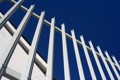 Frontière de sécurité de palissade Image libre de droits