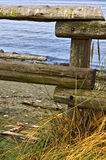 Frontière de sécurité de plage Photographie stock libre de droits