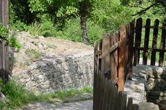 Frontière de sécurité de village Photographie stock libre de droits