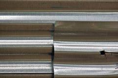 Frontière de sécurité en aluminium Photos libres de droits