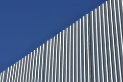 Frontière de sécurité en aluminium Image libre de droits