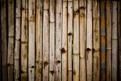 Frontière de sécurité en bambou, à thaï Photographie stock libre de droits