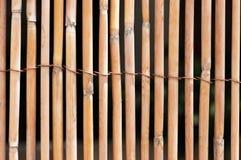 Frontière de sécurité en bambou Photos libres de droits
