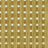 Frontière de sécurité en bois illustration stock