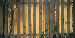 Frontière de sécurité - en bois Photos stock