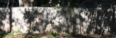 Frontière de sécurité en bois Photo libre de droits