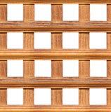 Frontière de sécurité en bois sans joint Image libre de droits