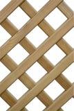 Frontière de sécurité en bois superposante Photographie stock libre de droits