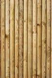 Frontière de sécurité en bois - verticale Images stock
